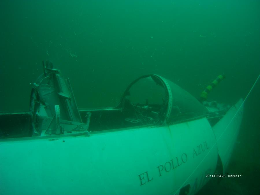 F101 Voodoo Cockpit