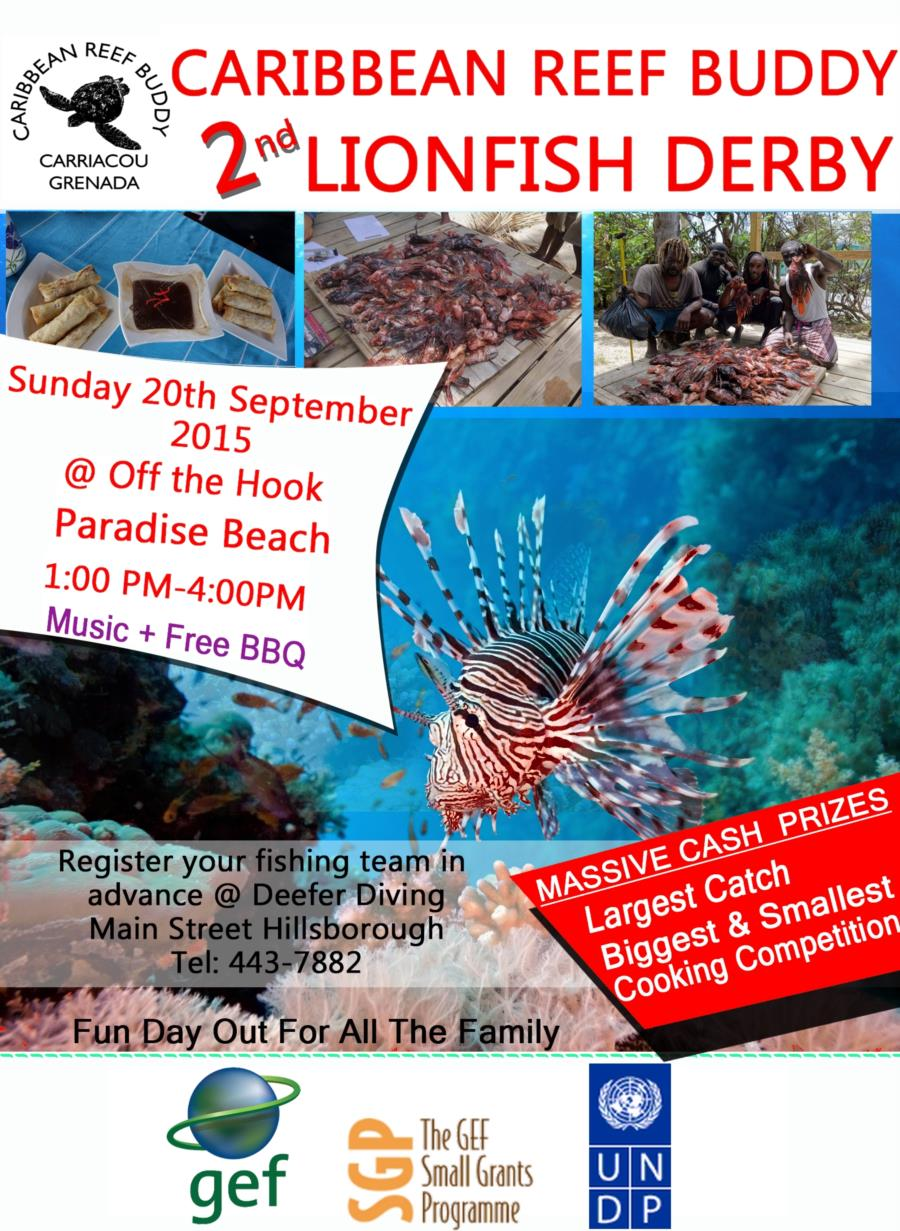 20th September is Lionfish Derby Day!