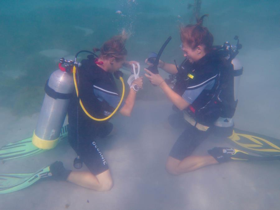 PADI Divemaster Equipment Exchange