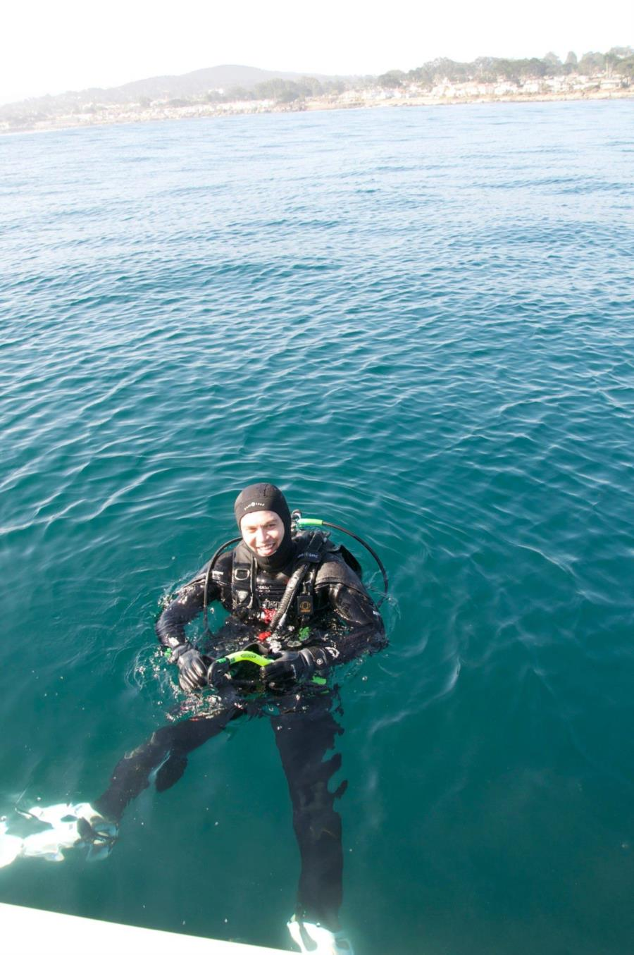 Boat Dive in Monterey Ca