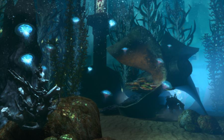 Bioshock 2 Underwater Scene