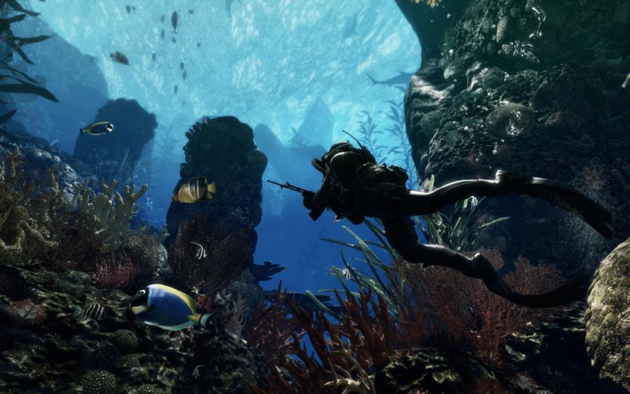 Call of Duty Ghosts Underwater Scene