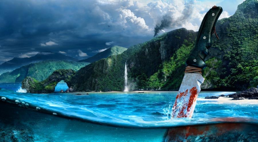 Far Cry 3 Ocean Scene
