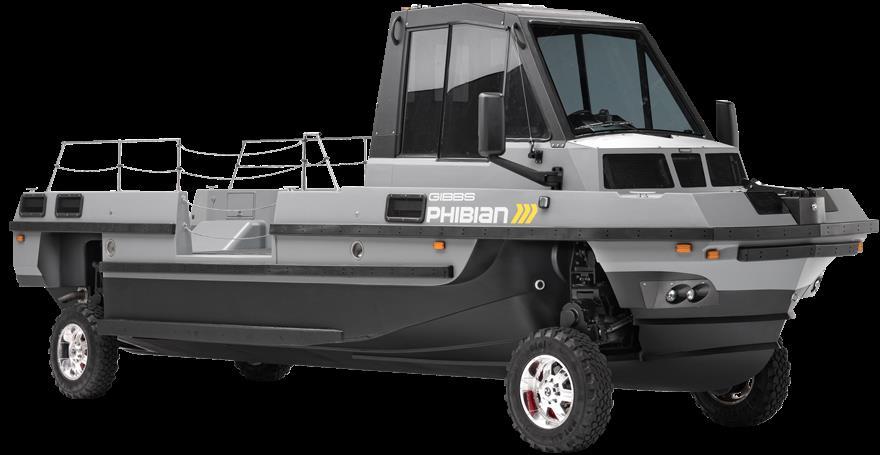 Gibbs Phibian Amphibious Truck Boat