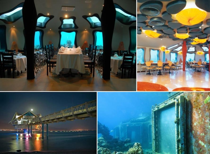 The Red Sea Star Underwater Restaurant and Bar in Eliat, Israel