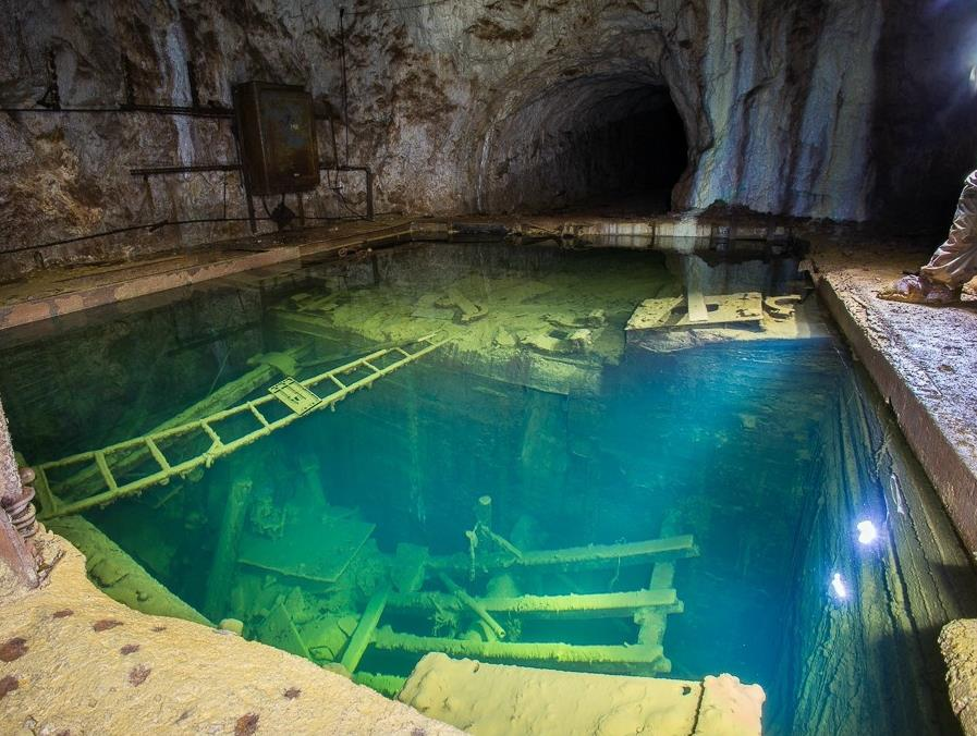 Abandoned Mine in Ural Mountains in Russia