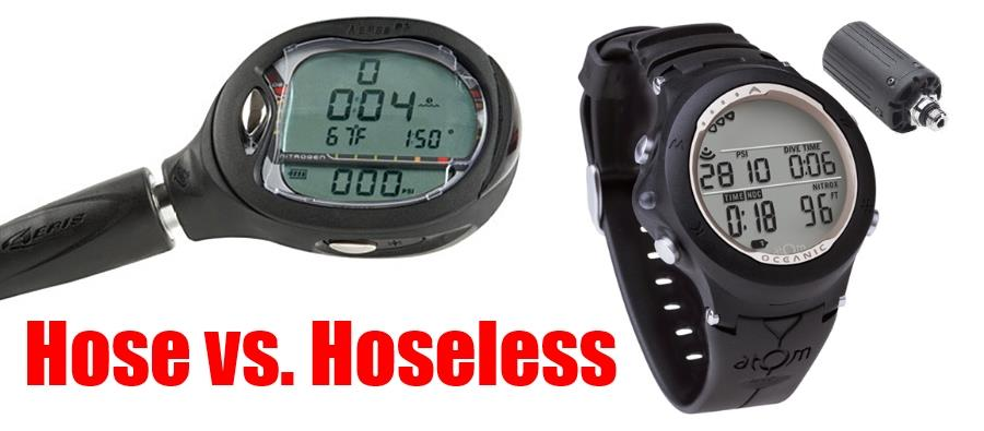 Air Integrated Dive Computers - Hose vs. Hoseless