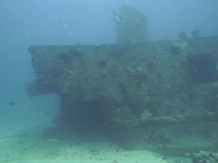 Cancun wreck dive #1 12/16