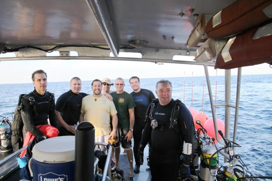 deep tec cert dives pompano beach