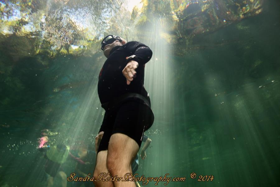 Freediver David Head at Blue Spring State Park 3