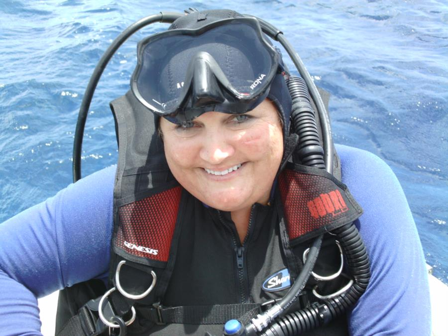 Me getting ready for a dive in Cozumel, MX