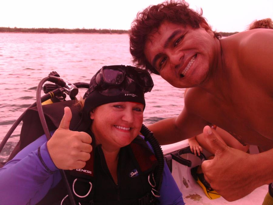 This guys great! Scuba Planet in Cozumel!