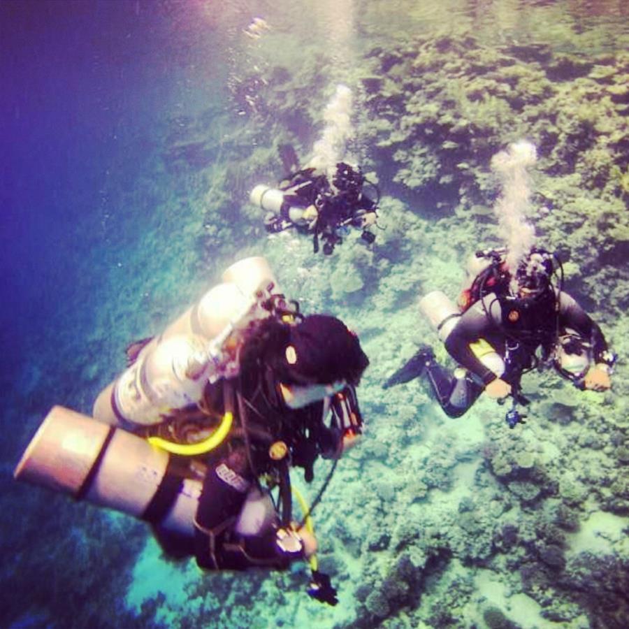 Deep Dive Trimix 80 Meters
