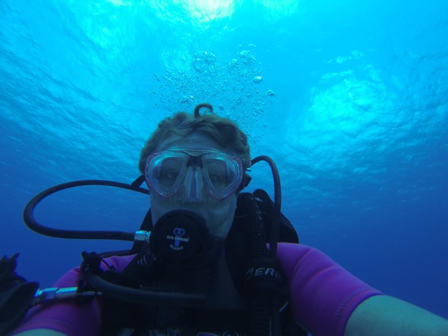 Dive Selfie