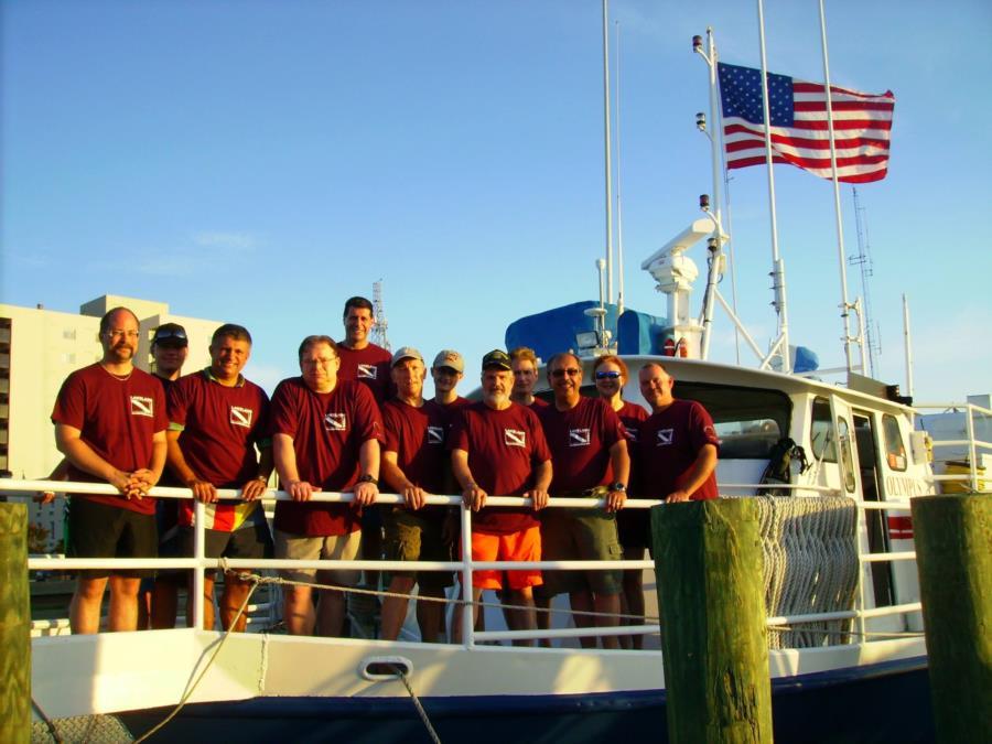 2014 North Carolina with Lakeland Divers of New Jersey