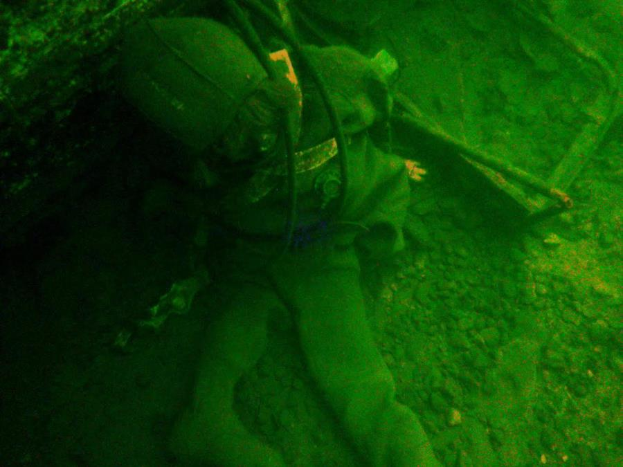 Pretend Diver - Rapp Quarry