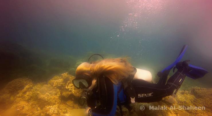Malak Al-Shaheen | SCUBA Mermaid