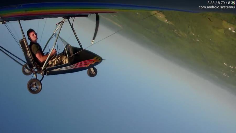 Phantom aerobatic Loop