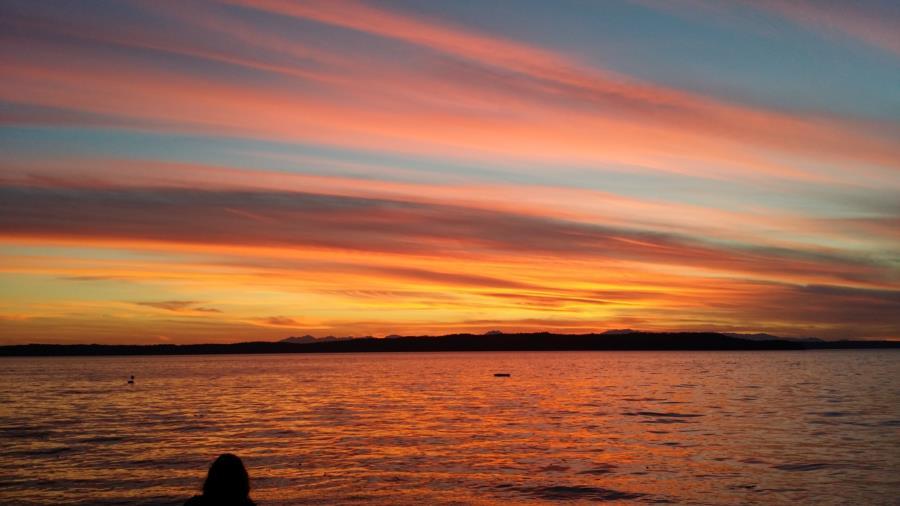Redondo at sunset