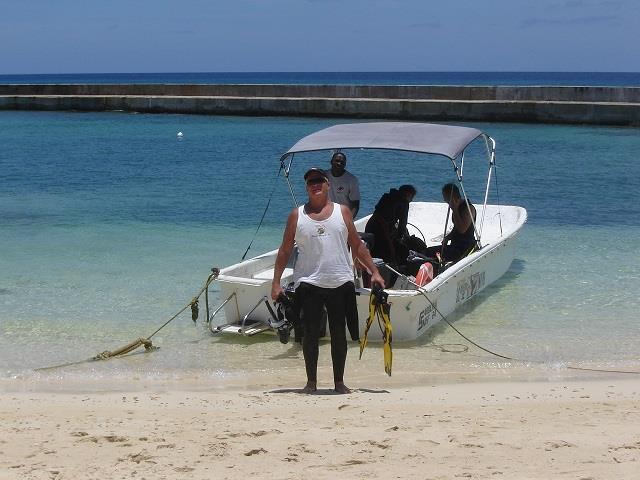 Cattle Boat Salt Cay Divers Turks Islands