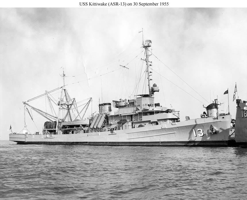 USS Kittiwake ASR13 Dive Date 6-13-2017