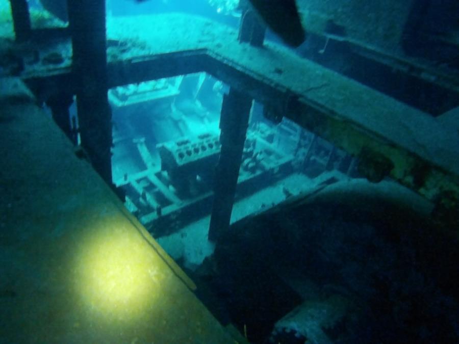 Kittywake Engine Room