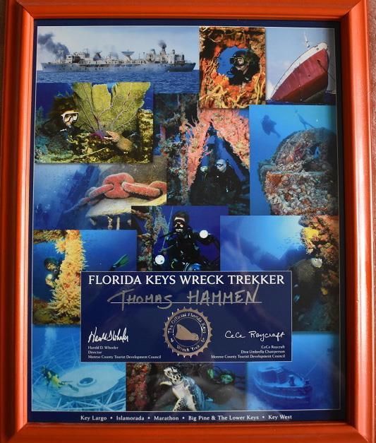 Florida Keys Wreck Trekker Poster