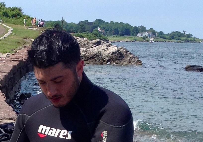 Rhode Island shore dive