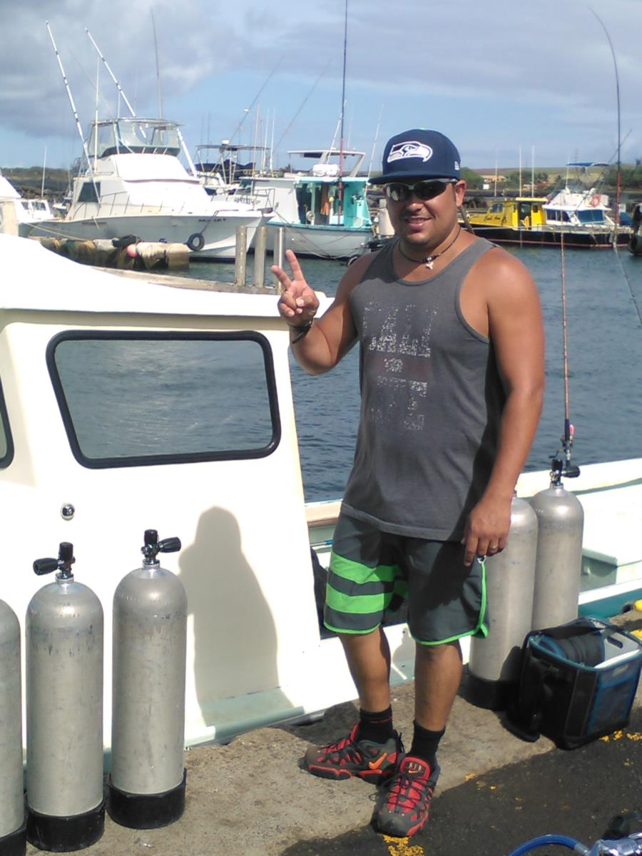 Scuba diving in Kauai Hawaii