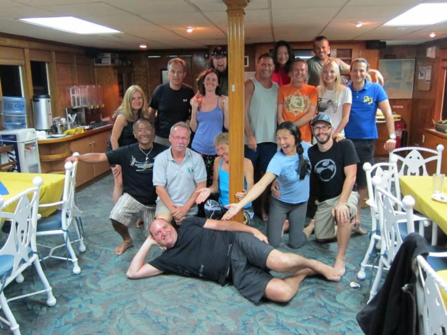 First trip to Cocos, group shot