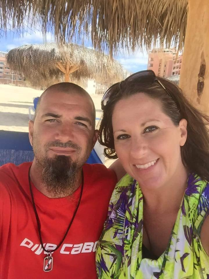 Me and my wife in Cabo San Lucas