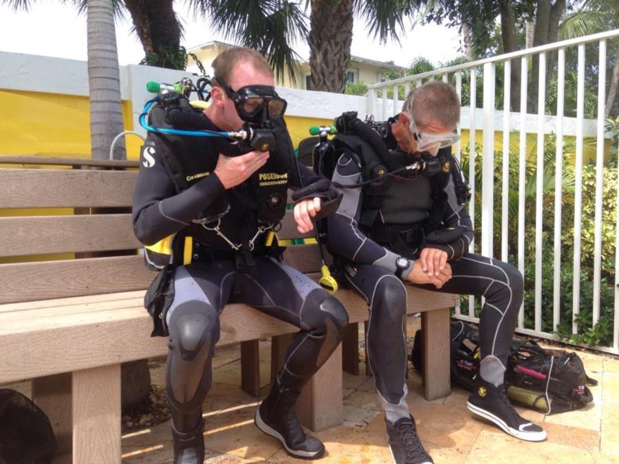 Advanced Rebreather Diver Pool Class