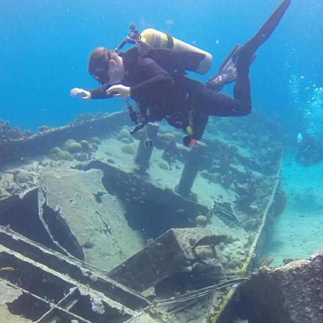 Wreck in Curacao