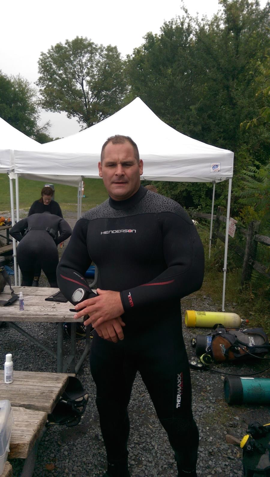 New wetsuit