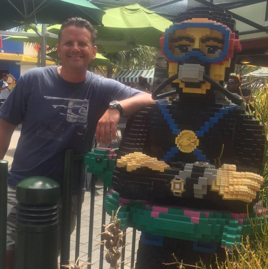 Diver down in Legoland