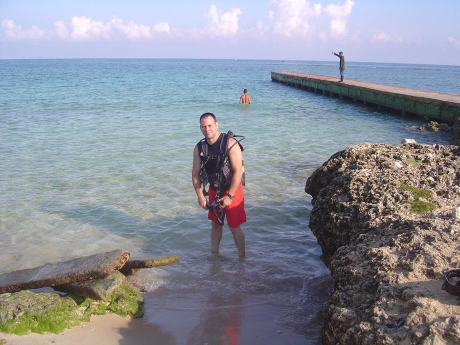 Bay of Pigs, Cuba - About to enter