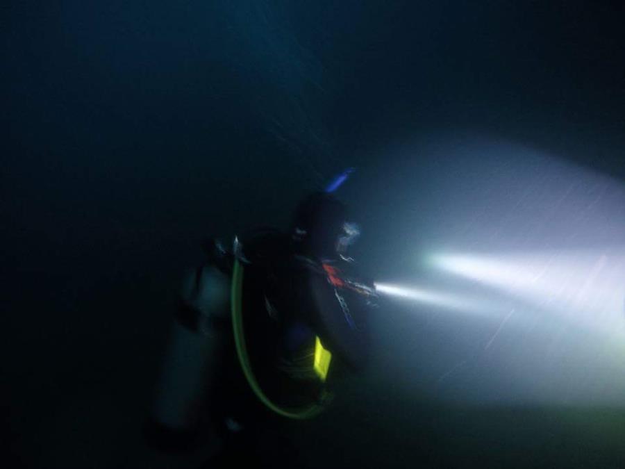 Philadelphia Quarry night dive