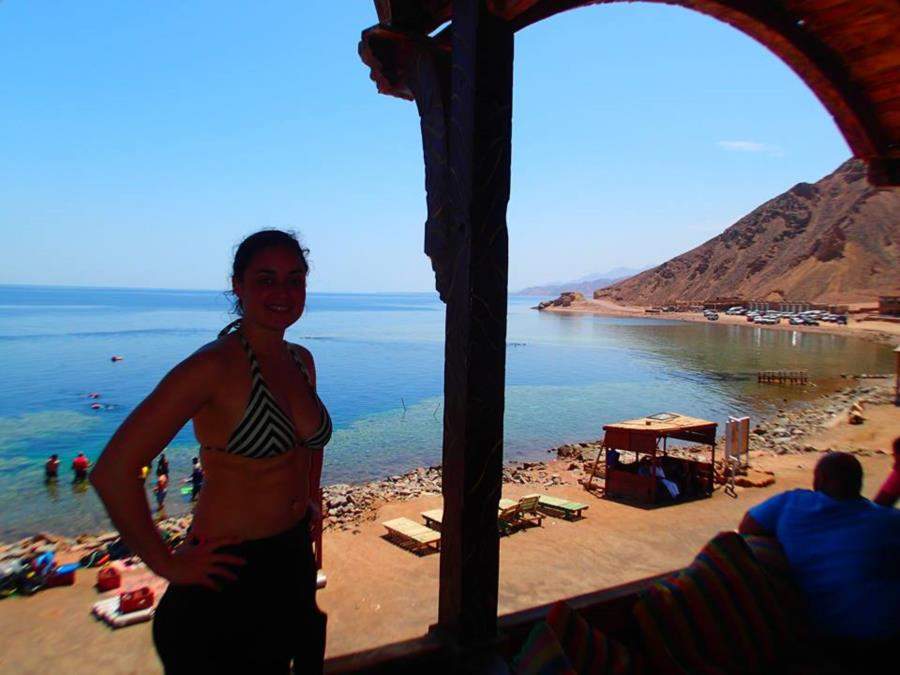 Christine @ Blue Hole, Dahab, Egypt