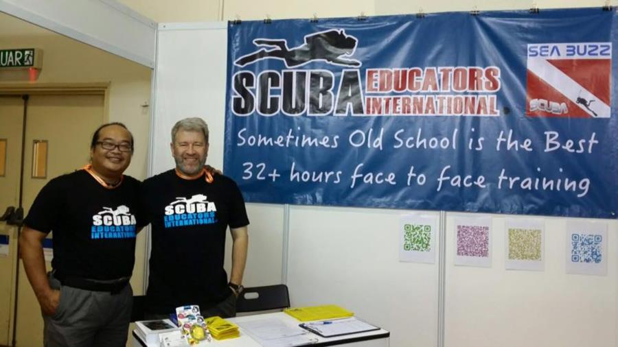 SEI and Sea Buzz Dive Center at Exhibition