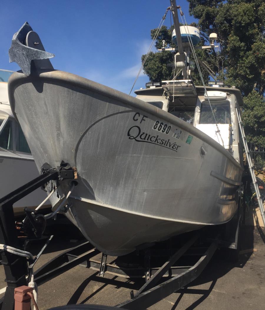 My dive boat