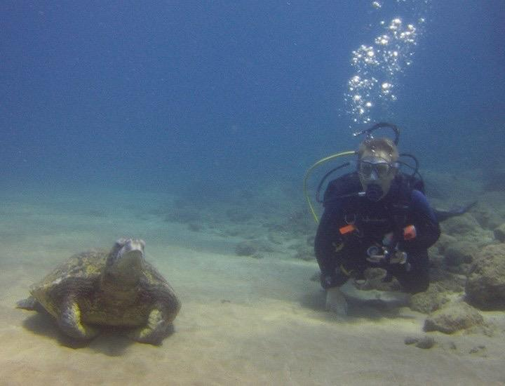 Me and my new Dive Buddy