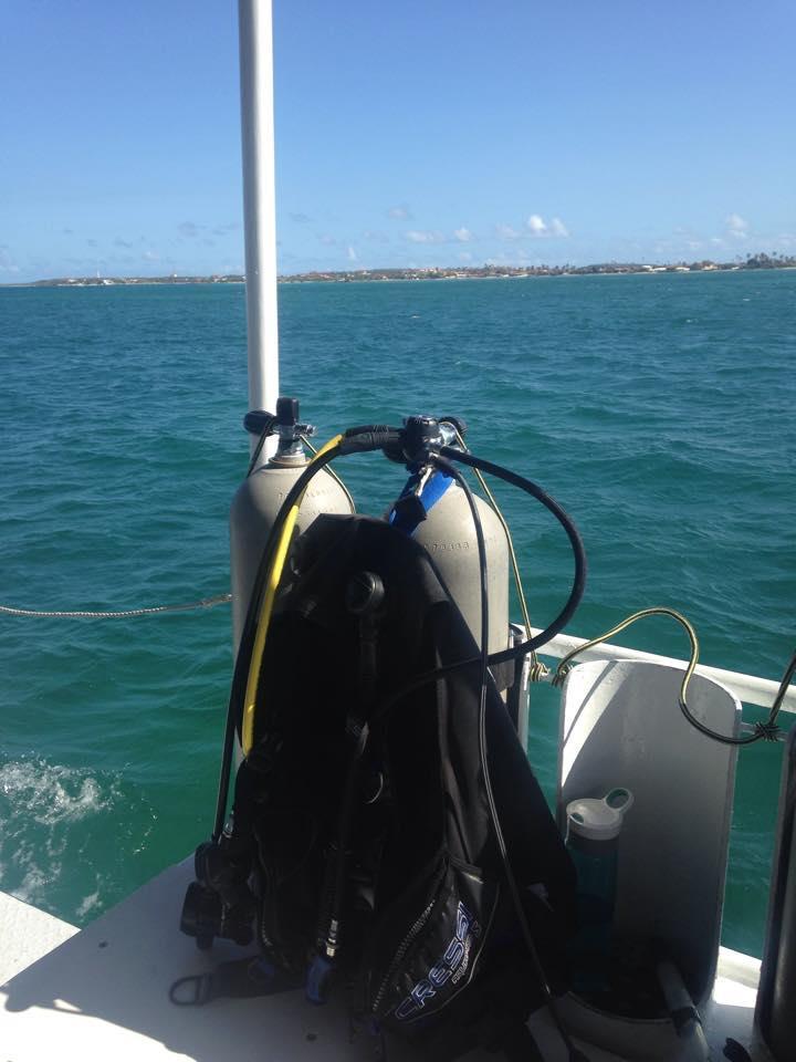 boat in Aruba