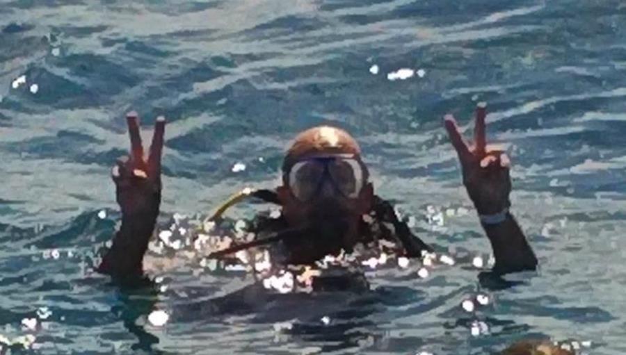 Diving Airport Reef in Jamaica