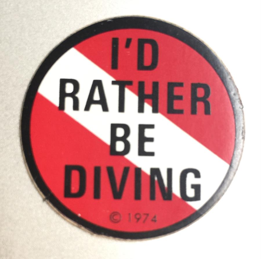 I'd rather...
