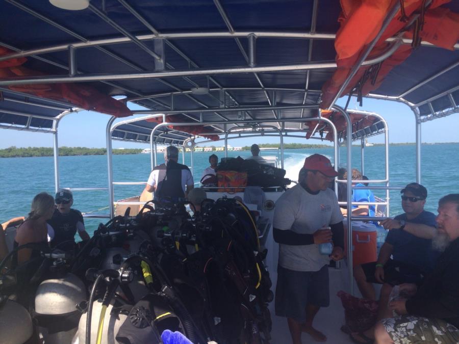 Dive Boat Belize