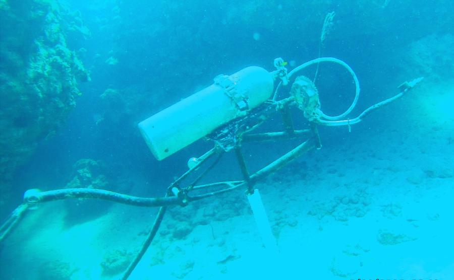 SCUBA SCULPTURE Grand Cayman