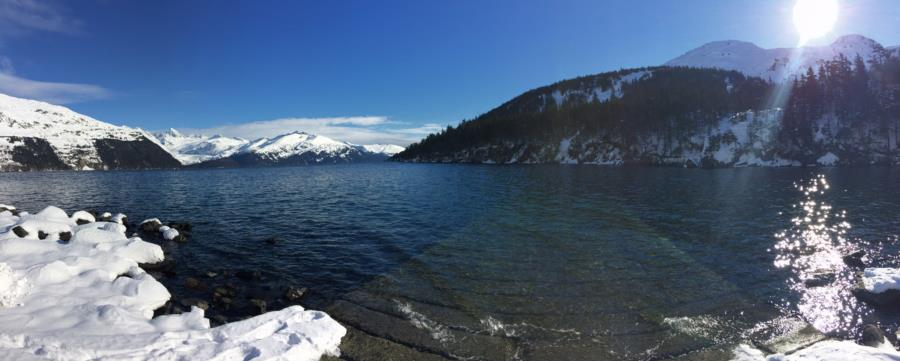Smitty's Cove in Whittier, AK (03/25/2017)