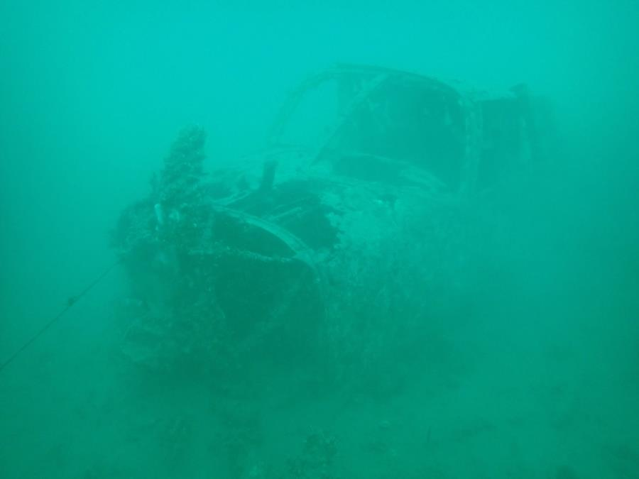 Sunk Plane at Smitty's Cove in Whittier, AK (08/08/2020)