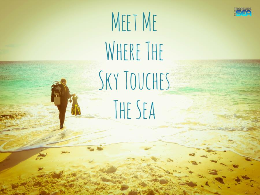 Meet Me Where The Sky Touches The Sea
