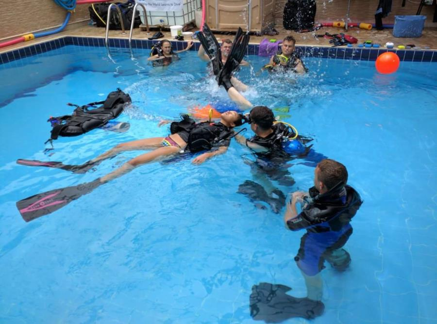 Rescue Diver Training